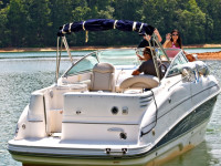 boat vacation michigan