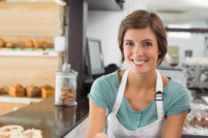 Female Business Owner Smiling