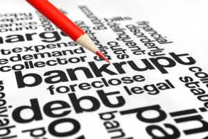 Bankruptcy Word Graphic