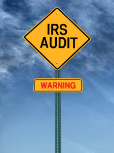 IRS Audit Sign