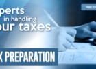 It's never too late for Tax Preparation Service at E&Y Insurance Agency